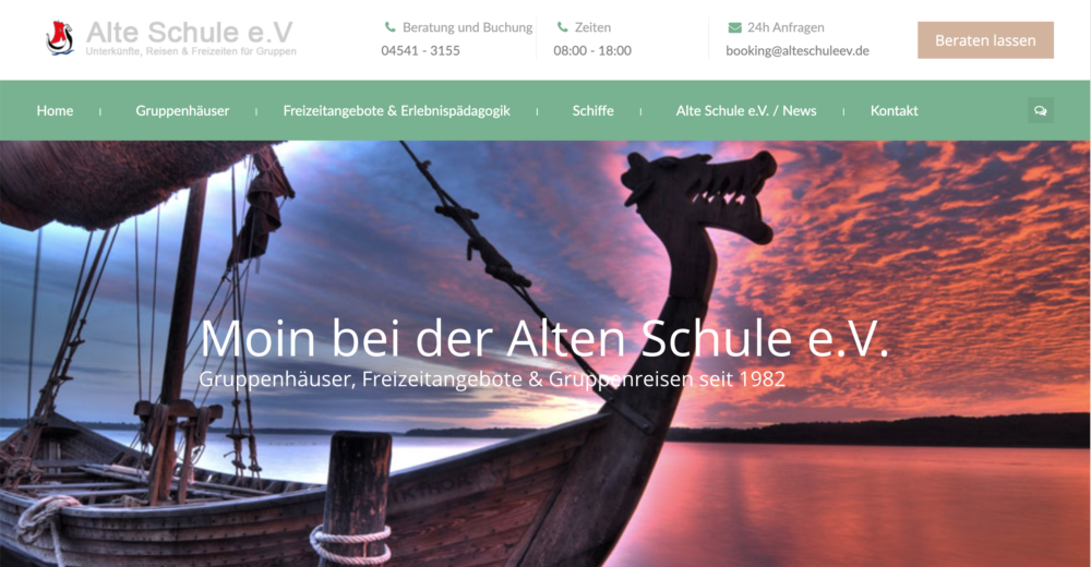 Alte Schule E.V. – Jugend & Erlebnisreisen